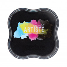 Artiste - Pigment Mini Ink Pad - Black.