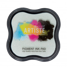 Artiste - Pigment Mini Ink Pad - Clear Emboss.