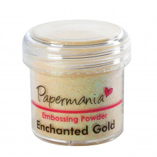 PaperMania - Embossing Powder (1oz) - Enchanted Gold.