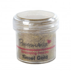 PaperMania - Embossing Powder (1oz) - Tinsel Gold.