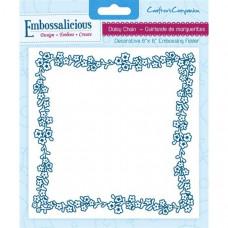Embossalicious  6 x 6'' Embossing Folder - Daisy Chain