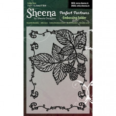 "Sheena Douglas Perfect Partners Embossing Folder 5"" x 7"" - Beautiful Brambles"