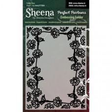 "Sheena Douglas Perfect Partners Embossing Folder 5 x 7"" - D""."