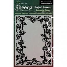 "Sheena Douglas Perfect Partners Embossing Folder 5"" x 7"" - Daisy Chain Bord"