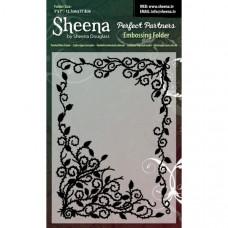 "Sheena Douglas Perfect Partners Embossing Folder 5"" x 7"" - Twisted Vine"
