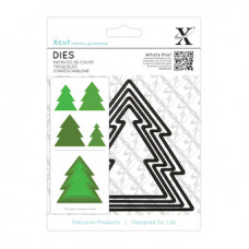 Xcut Nesting Dies - Christmas Tree 4pcs.
