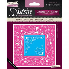 Diesire 'Create a Card' Metal Die - Floral Melody.