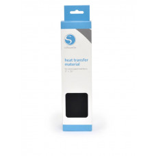 Silhouette Smooth Heat Transfer Material - Black.