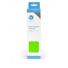 Silhouette Smooth Heat Transfer Material - Lime Green.