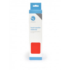 Silhouette Smooth Heat Transfer Material - Red.