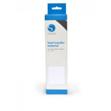 Silhouette Smooth Heat Transfer Material - White.