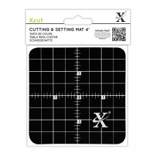 Xcut  4'' Cutting & Setting Mat - Black