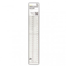 Xcut  30cm Precision Ruler (Metal Edge Inlay)