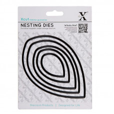 Xcut Nesting Dies - Leaves 5pcs.