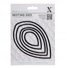 Xcut Nesting Dies - Leaves 5pcs