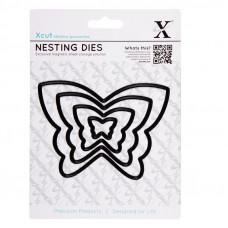 Xcut Nesting Dies - Butterflies - 4pcs