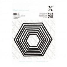 Xcut Nesting Dies - Nesting Hexagons 7pcs