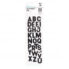 Xcut Alphabet Dies - Headliner.