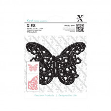 Xcut Decorative Dies - Floral Filigree Butterfly.