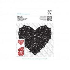 Xcut Decorative Dies - Floral Filigree Heart