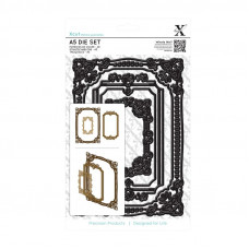 Xcut Large Dies - Ornate Frames A5 - 3pcs