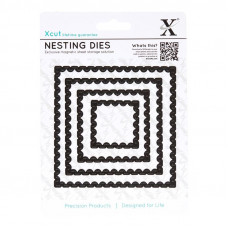 Xcut Nesting Dies - Postage Stamps 4pcs