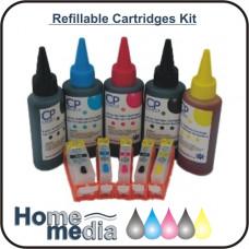 Canon PGI-525/CLI526 - (5Cartridges) Refillable Cartridge Kit