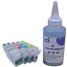 Sublimation Cleaning Cartridge Kit for Printer Models using Epson T1005 Cartridges.