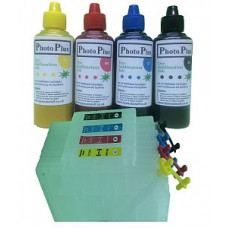 Ricoh Compatible GC21 Dye Sublimation Refillable Cartridge Kit.