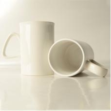 10oz White Mug with Straight Walls  - Box of 36pcs