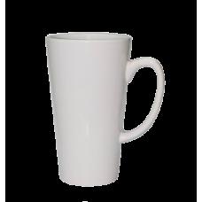 17oz White Latte Mug  - Box of 24pcs