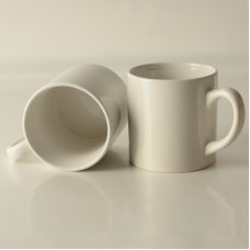 6oz White Small Coffee Mug  - Box of 48pcs