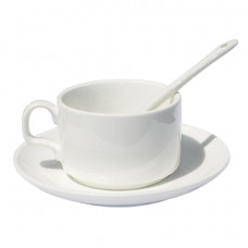 White Coffee Mug Set - Box of 10pcs