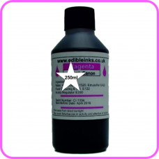 Edible Ink for Canon Printers - 1 x 250ml Bottle Magenta