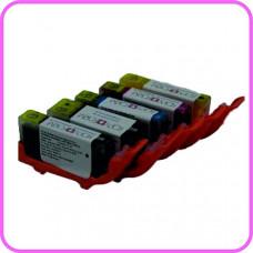 Kopyform Pre-Filled Edible Ink Cartridge Set -  for Canon PGI-520/CLI-521