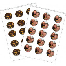Edible Chocolate Transfer Sheet - 25 Sheets Full Size A4