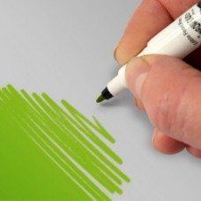 Food Art Pen - Spring Green, with a fine and a broad nib. - 2 pens in 1.