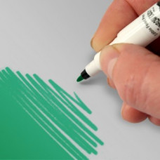 Food Art Pen - Teal, with a fine and a broad nib. - 2 pens in 1.