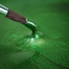 Metallic Food Paint - Metallic Holly Green in a 25ml Pot.