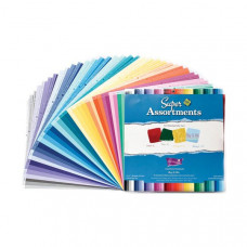 Coredinations Cardstock - Super Assortments - 6x6 , 40 Sheets - Roy B Giv