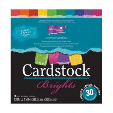 Coredinations Cardstock - Core Essentials - 12x12 Brights in 30 sheet pack
