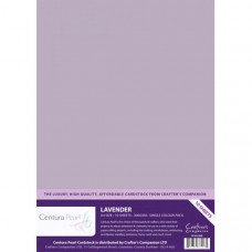 Centura Pearl, 10 Sheets of Lavender Single Side 300gsm Printable A4 Card
