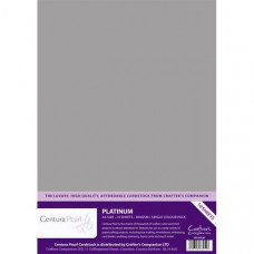 Centura Pearl, 10 Sheets of Platinum Single Side 300gsm Printable A4 Card