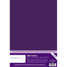 Centura Pearl, 10 Sheets of Deep Purple Single Side 300gsm Printable A4 Card