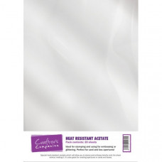 Heat Resistant Laser Printable Acetate in a 20 sheet pack by Crafter's Companion