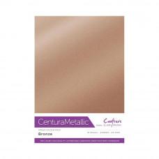 Centura Metalic A4 Printable 310gsm Printable Card Pack - Bronze 10 sheets