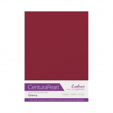 Centura Pearl, 10 Sheets of Cherry Single Side 300gsm Printable A4 Card