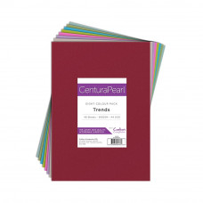 Centura Pearl A4 Printable Card Pack 300gsm - Trends 40 sheets by Crafters Companion