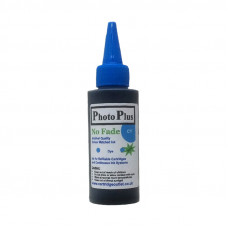 100ml Bottle of Archival Cyan Ink Compatible with Brother Printers.