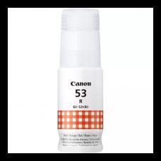 GI-53 Red Dye Genuine OEM Canon Bottle of Ink..